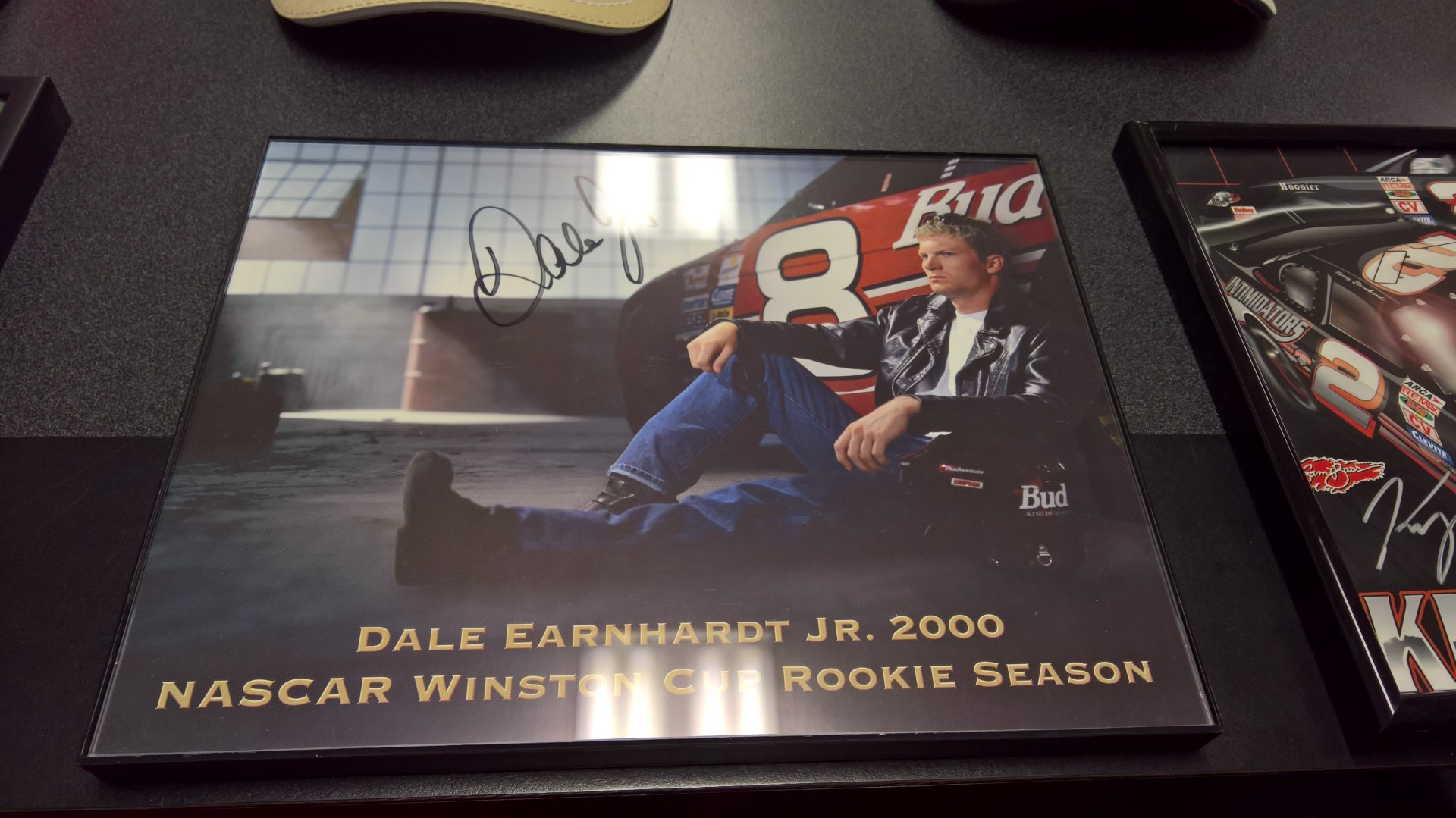 Dale Earnhardt Jr. Signed Hero Card