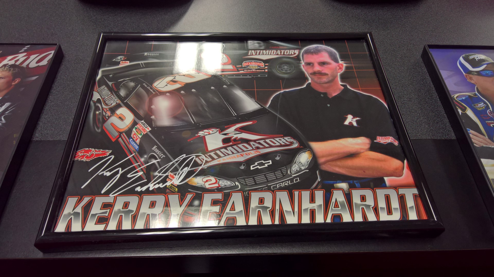 Kerry Earnhardt Signed Hero Card