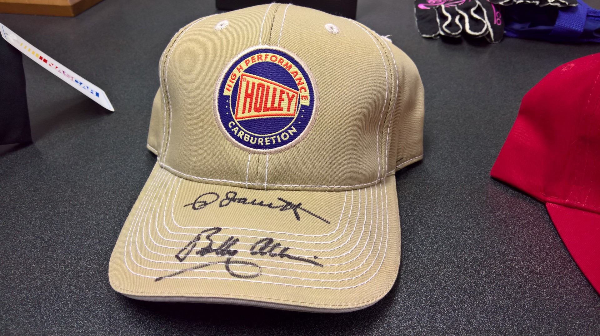 Signed Holley Carburetion Ball Cap
