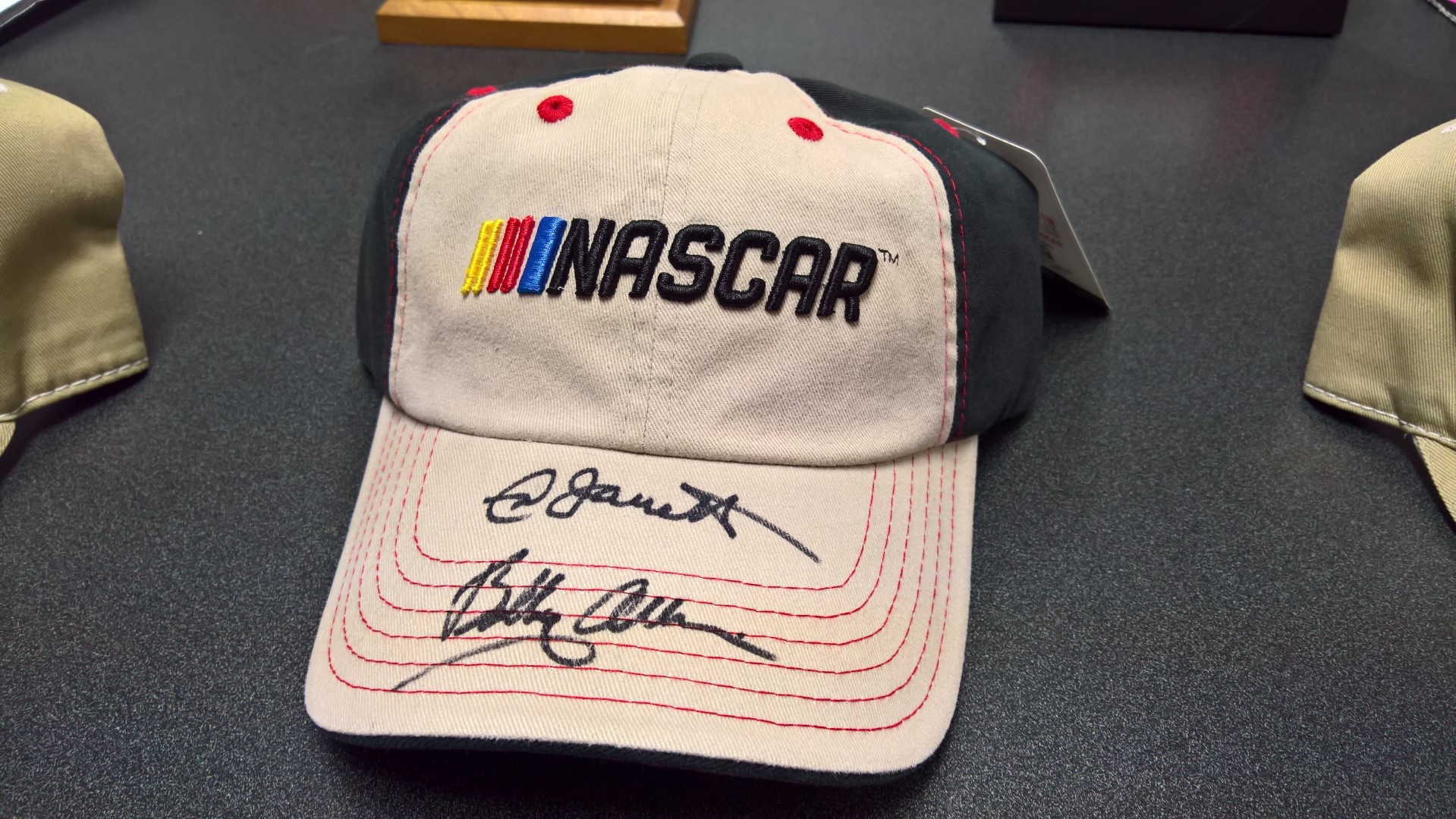 Signed NASCAR Ball Cap