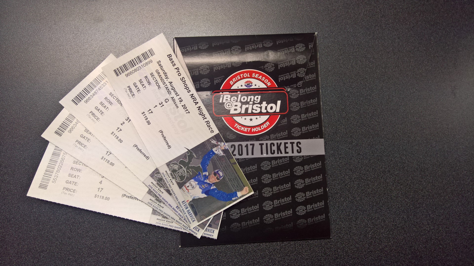 4 Bristol Race Tickets