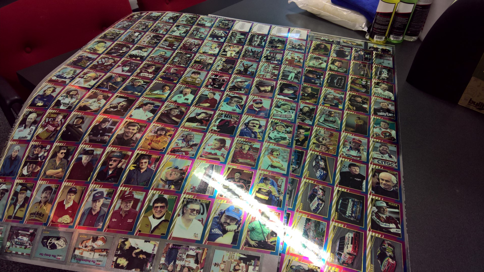 1994 Maxx Premier Plus Uncut Card Sheets (2)