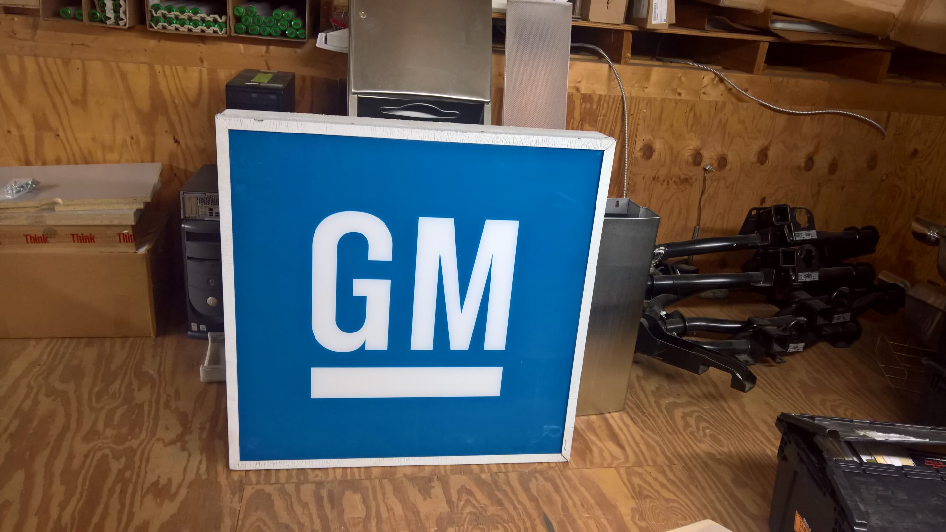 GM Case Sign from Dale Earnhardt Chevy