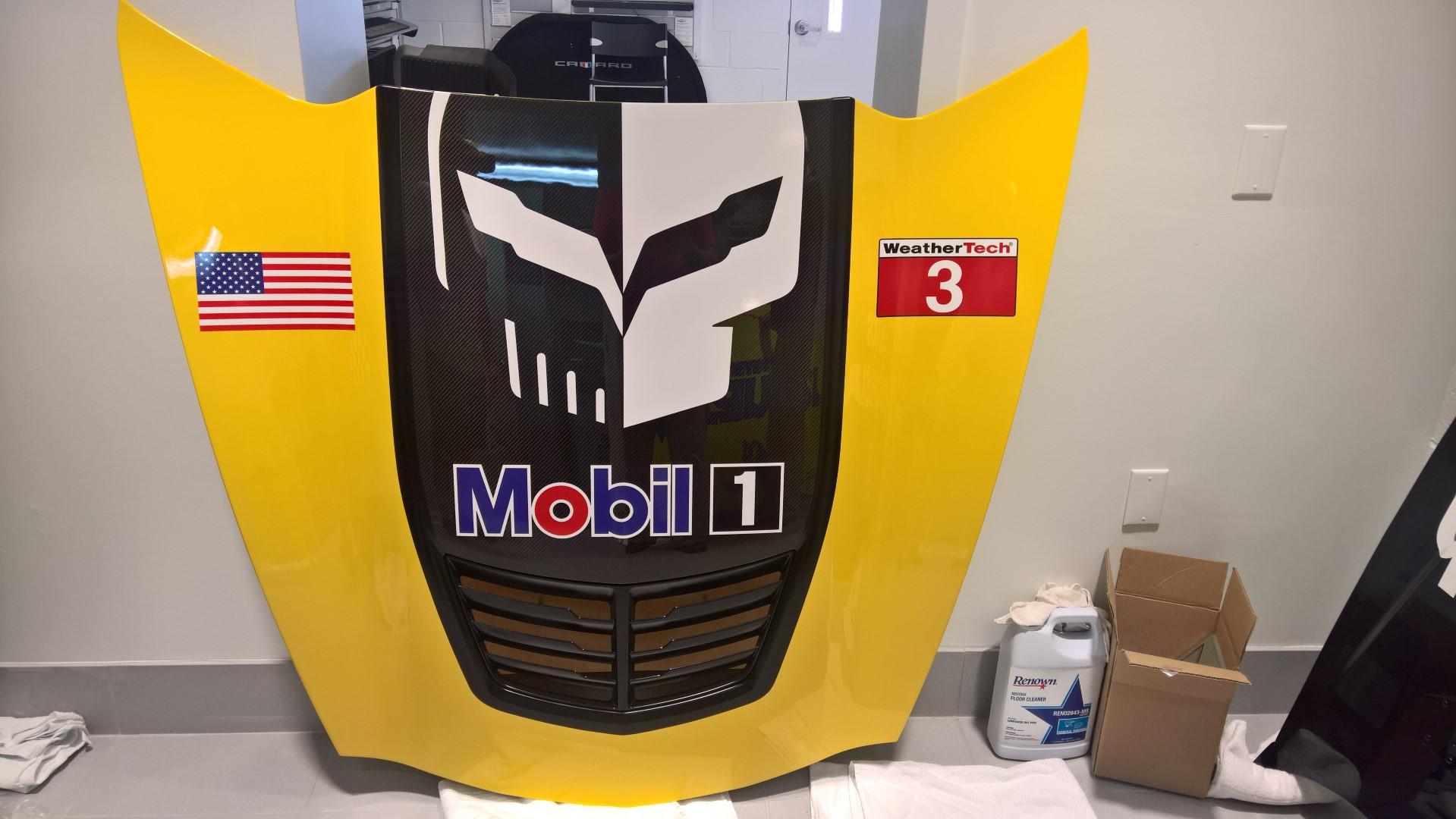 Corvette Racing Full Size Corvette Hood