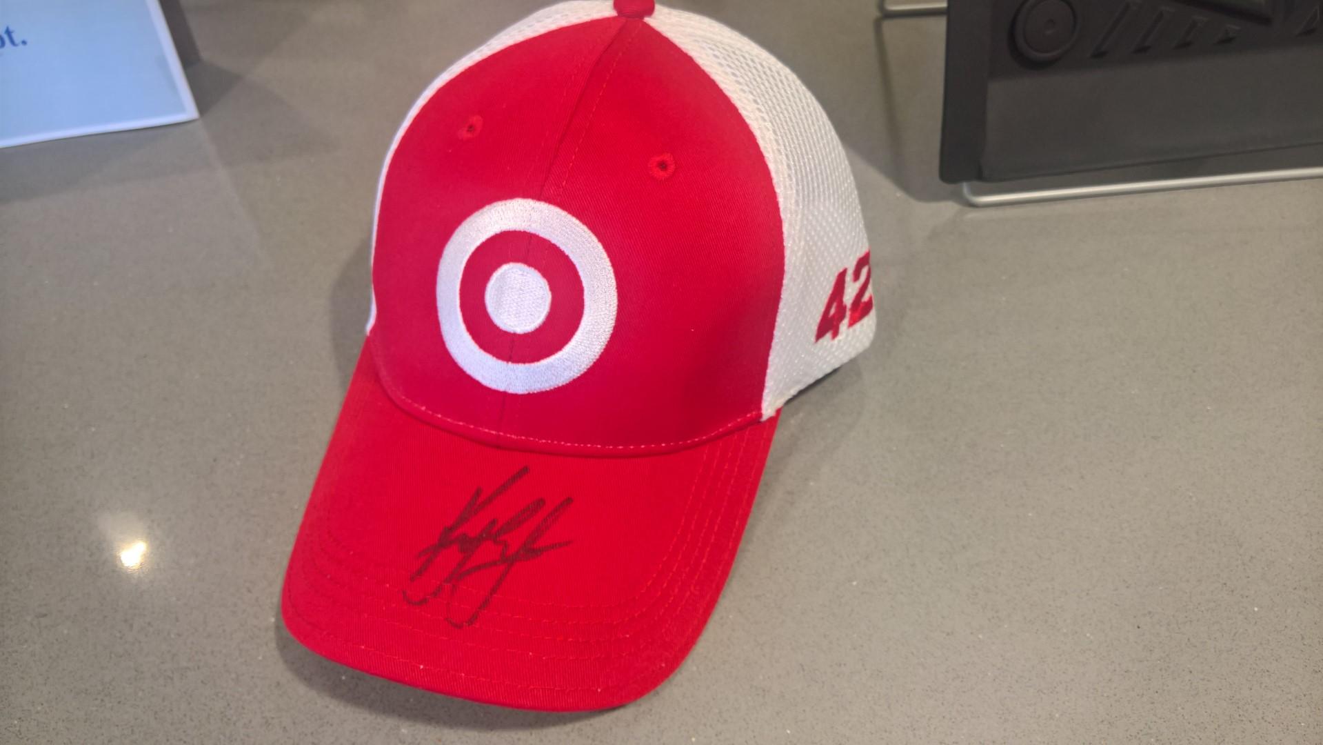 Signed Target Baseball Cap by Kyle Larson