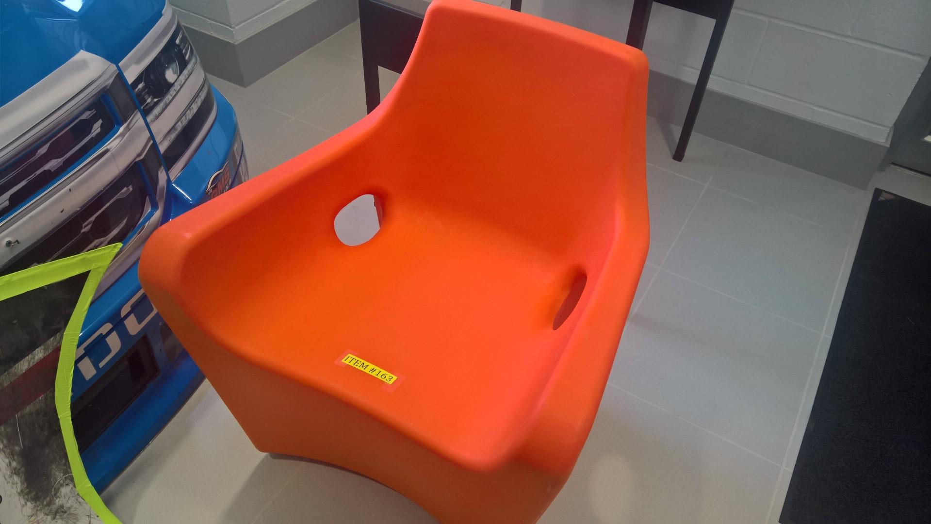 Orange Plastic Chair from Sandler Seating