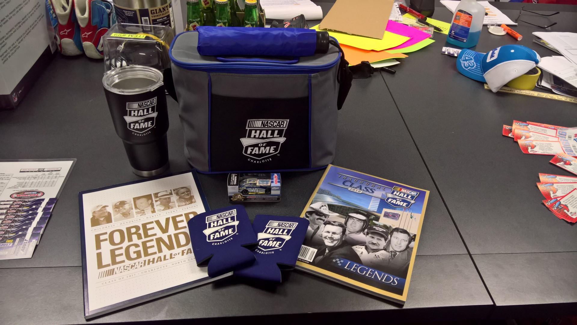NASCAR Hall of Fame Branded Package
