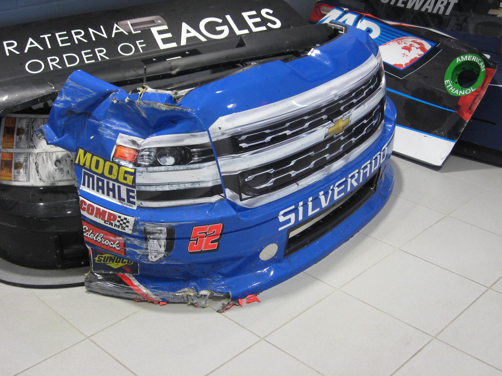 Nose from #52 NASCAR Camping World Series Truck of Stewart Friesen