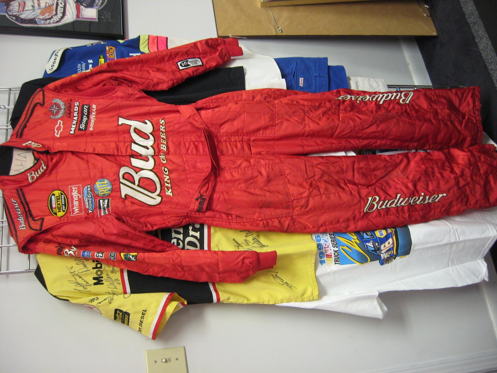Dale Jr. Budweiser Pit Crew Uniform