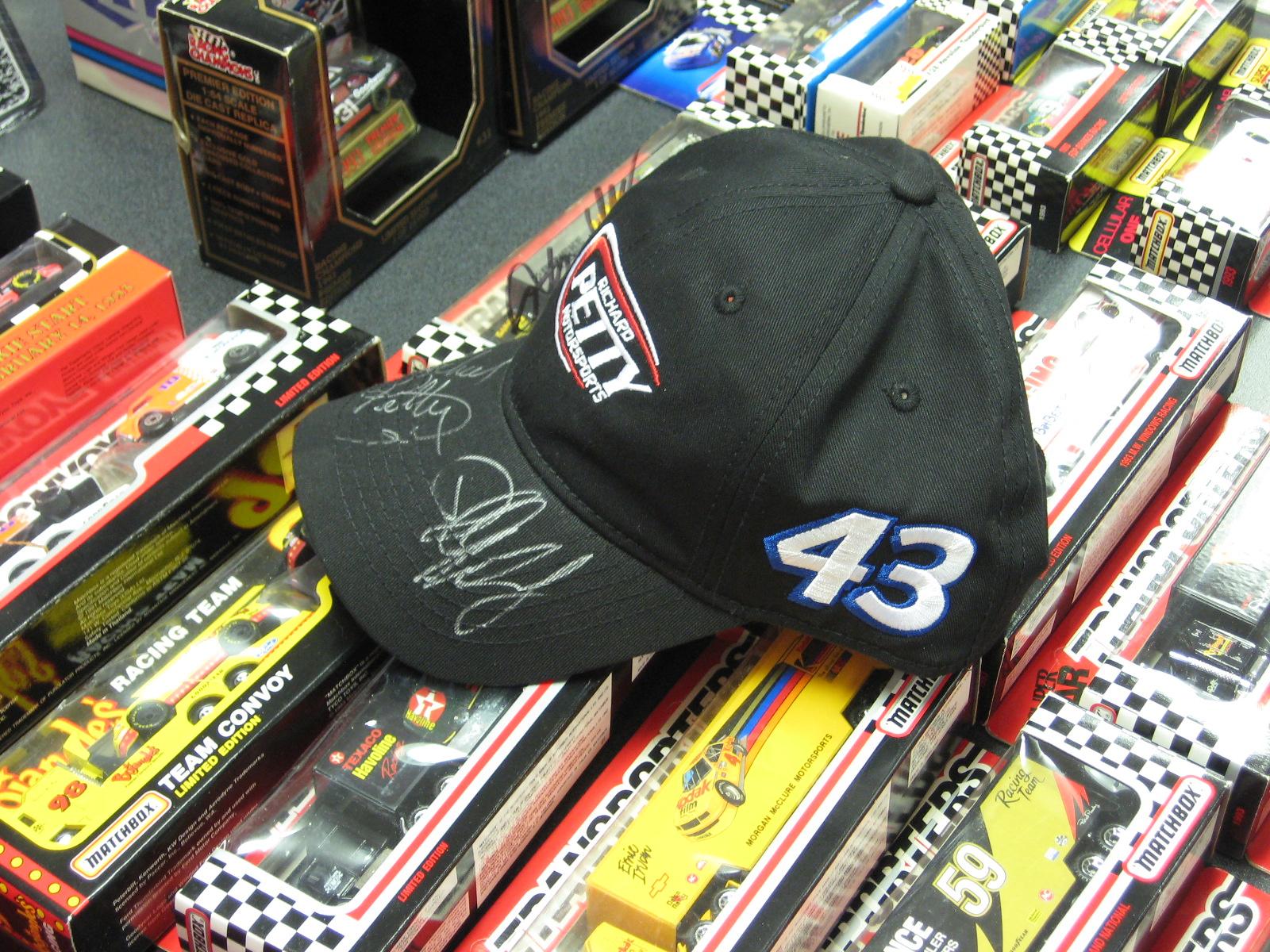 Richard Petty Motorsports Autographed Ballcap