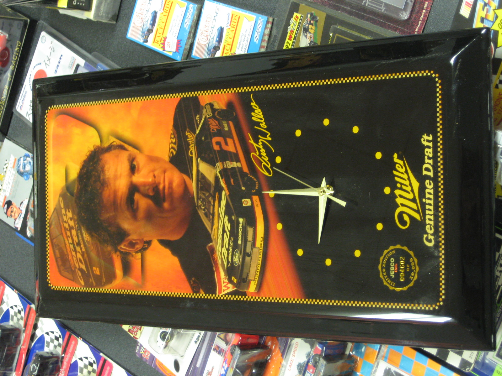 Rusty Wallace JEBCO Limited Edition Clock
