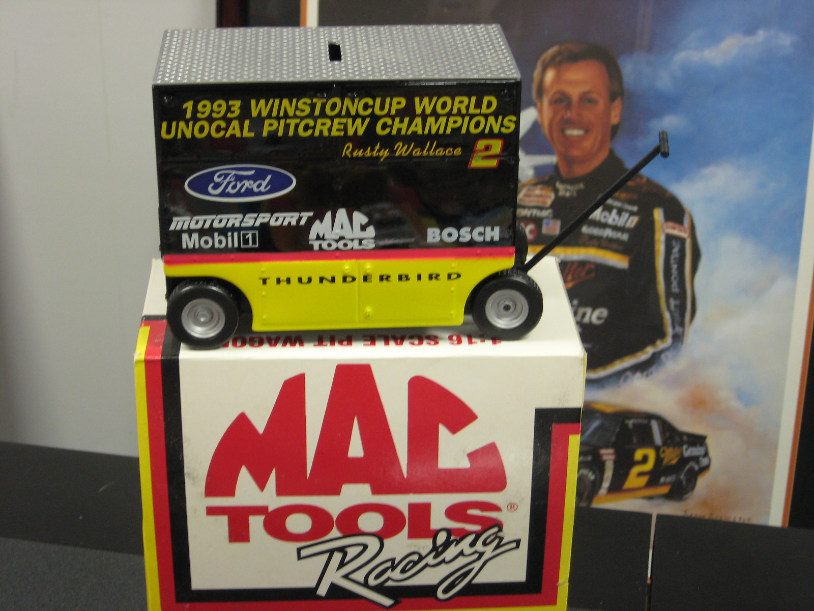 Rusty Wallace 1 16 Scale Pit Wagon