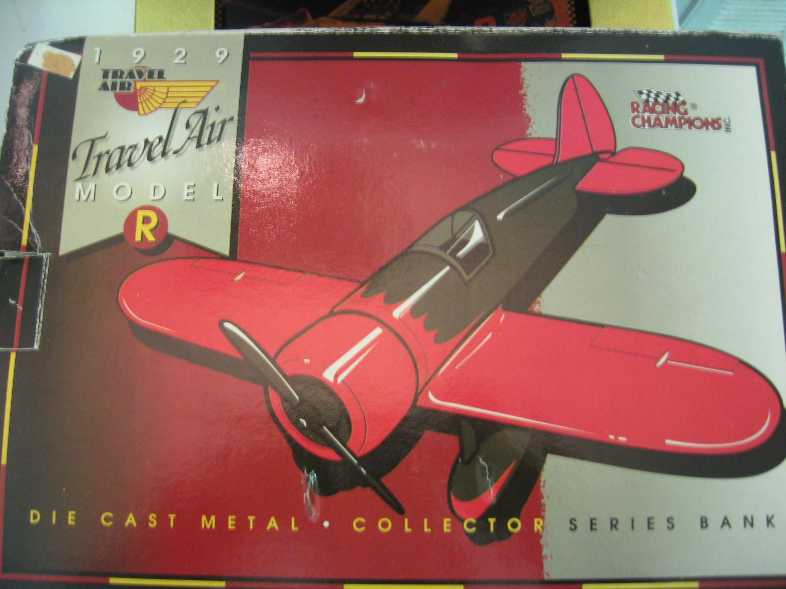 1929 Travel Air Model R Plane Bank – Rusty Wallace Edition