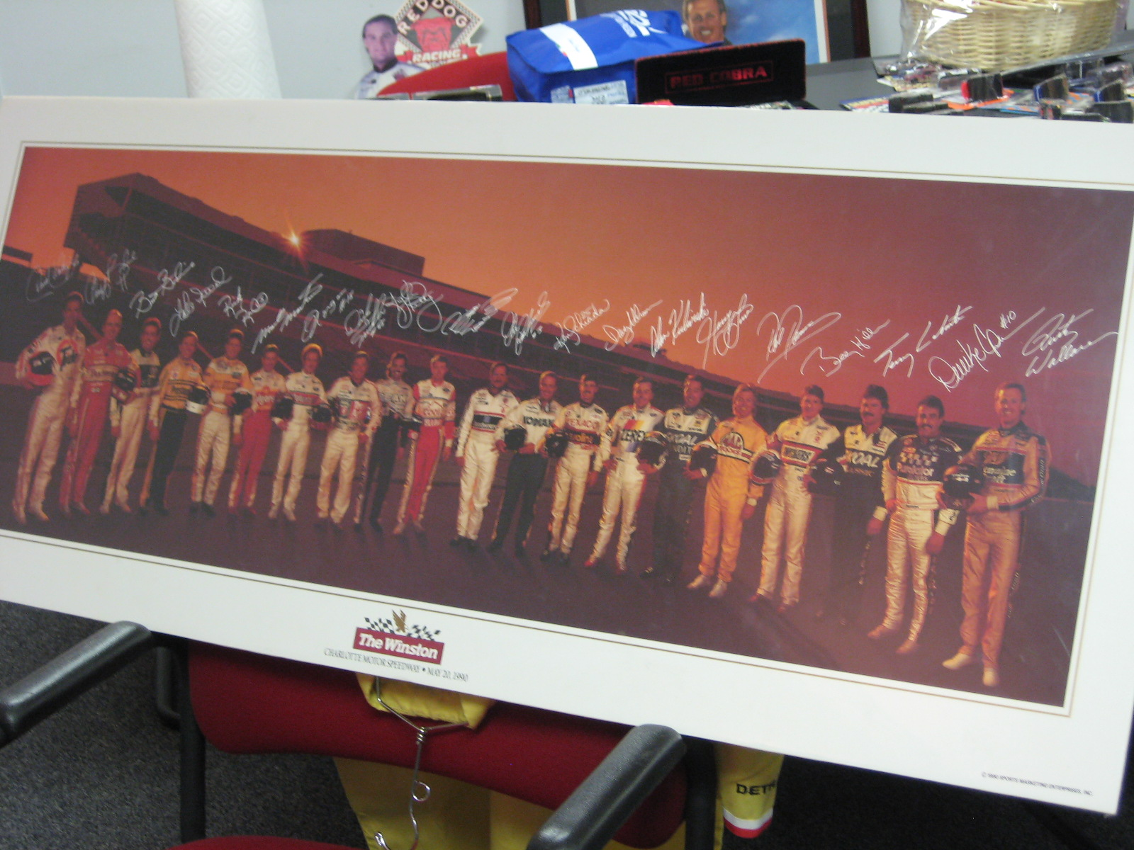 The Winston 1992 Dry Mounted Poster