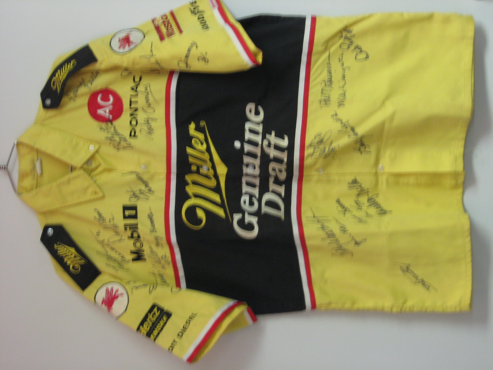 Signed Rusty Wallace Pit Crew Shirt
