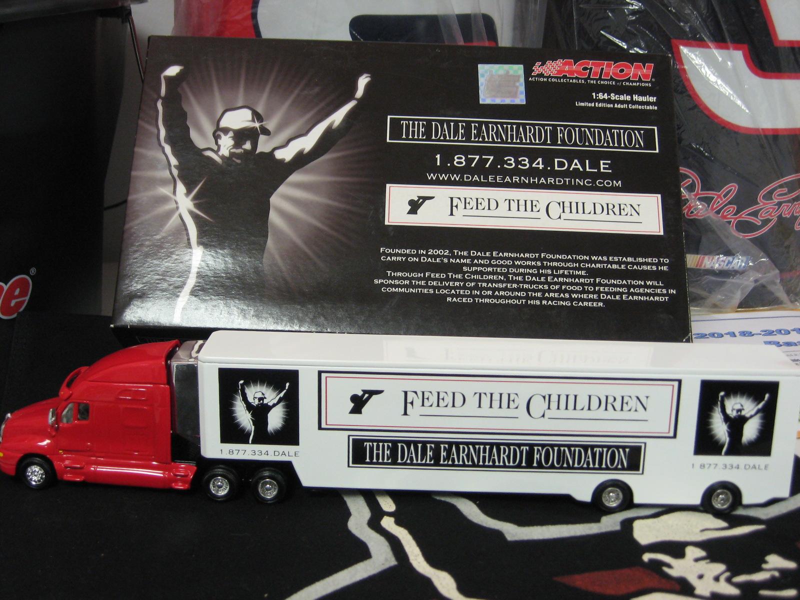 1:64 Feed The Children Dale Earnhardt Foundation Diecast Hauler