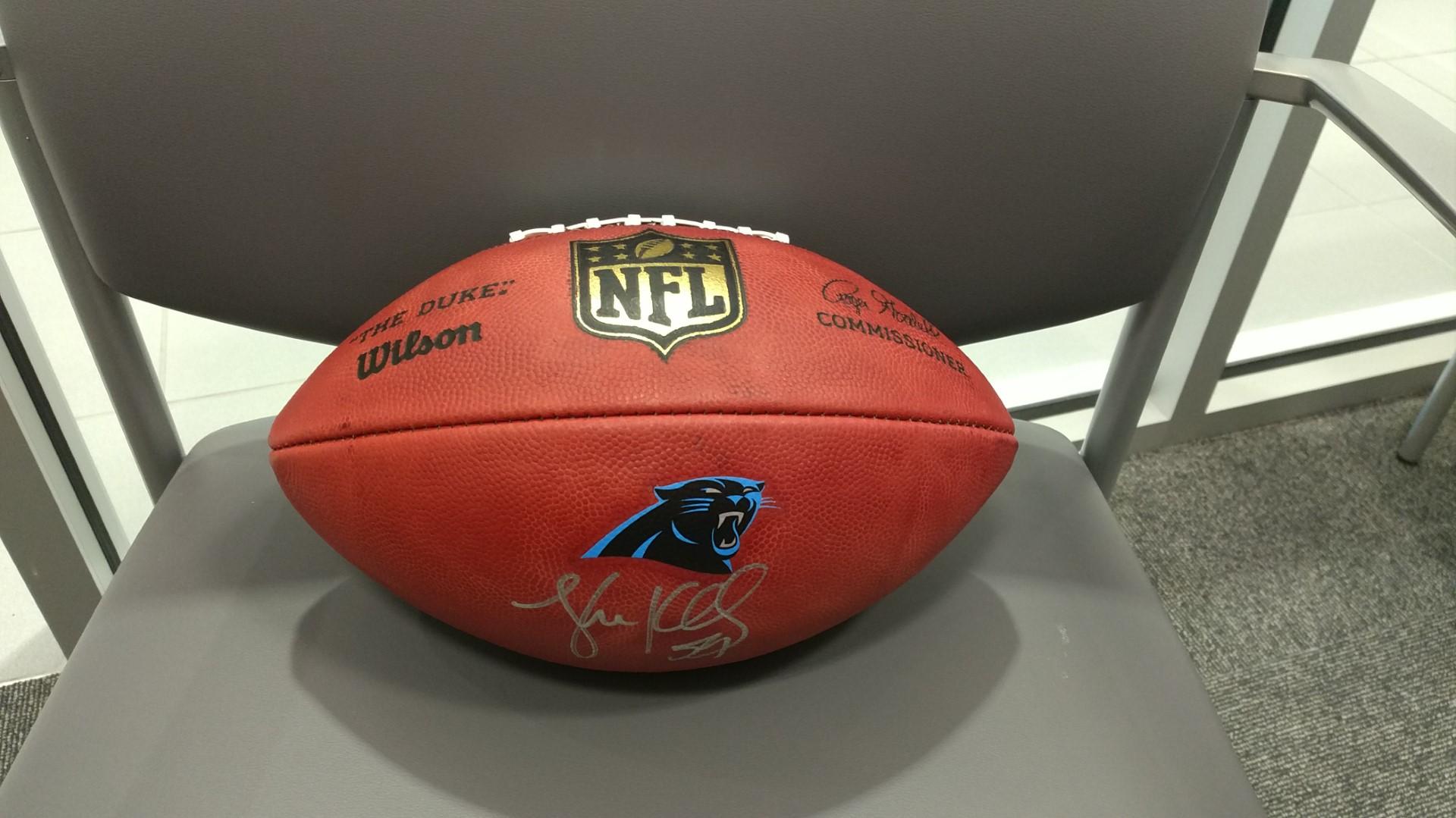 Luke Kuechly Signed Carolina Panthers NFL Football