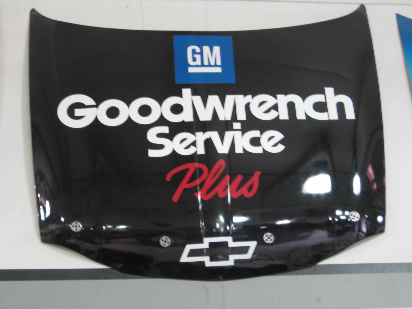 Dale Earnhardt GM Goodwrench Replica Hood