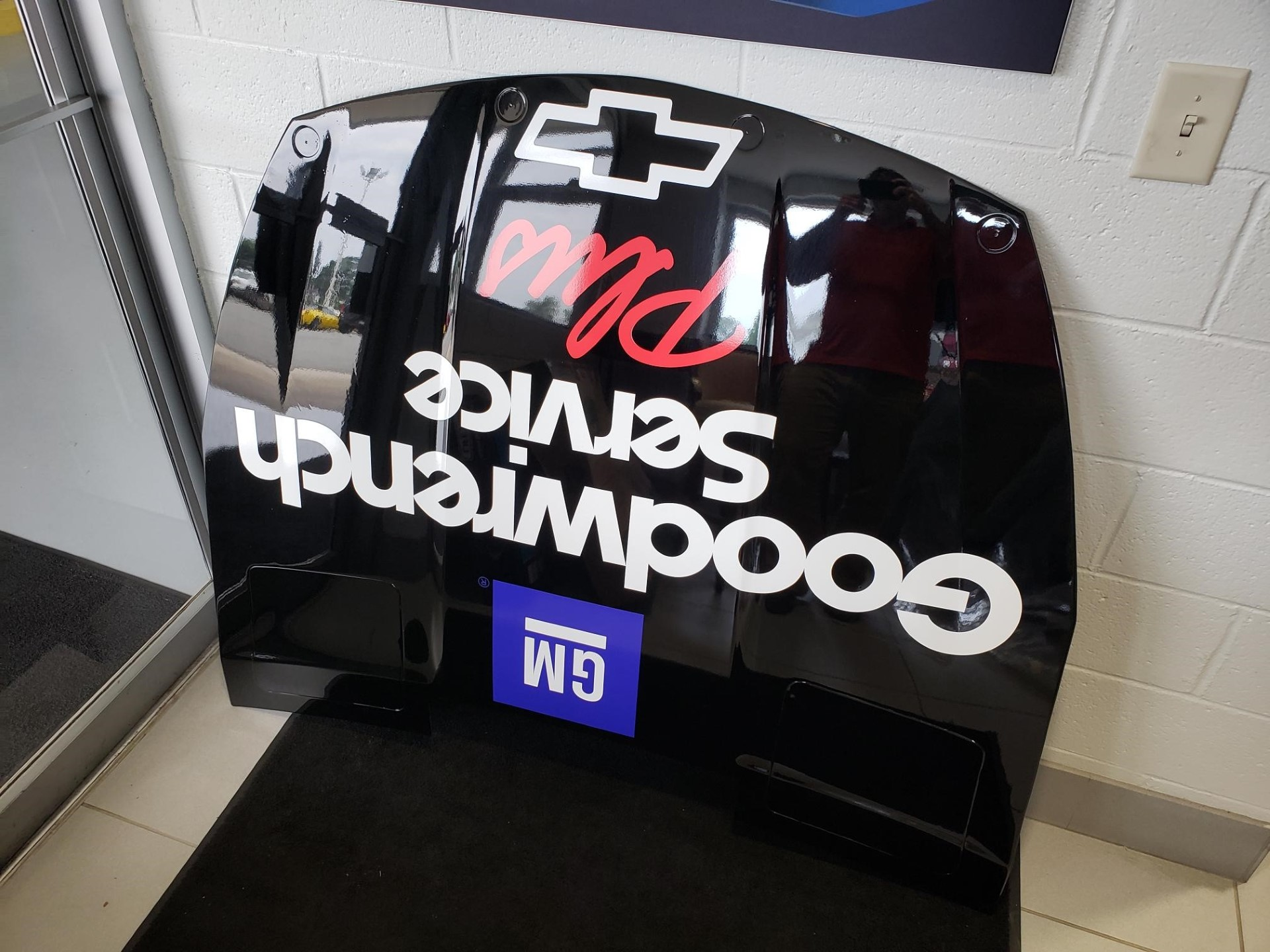 Goodwrench Replica Chevy SS Hood