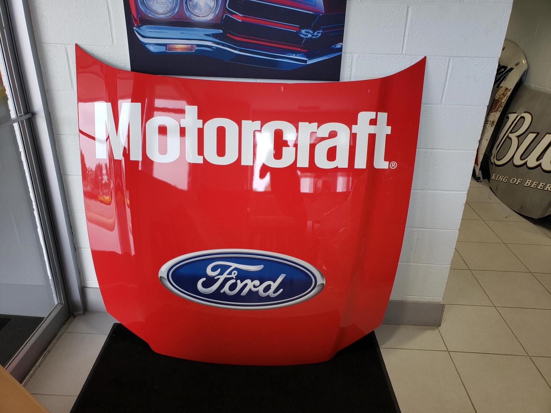 Ford Motorcraft Replica Mustang Hood