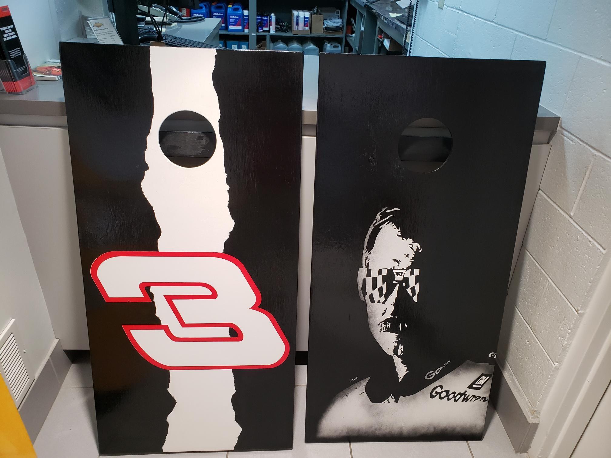 Custom Dale Earnhardt Cornhole Boards