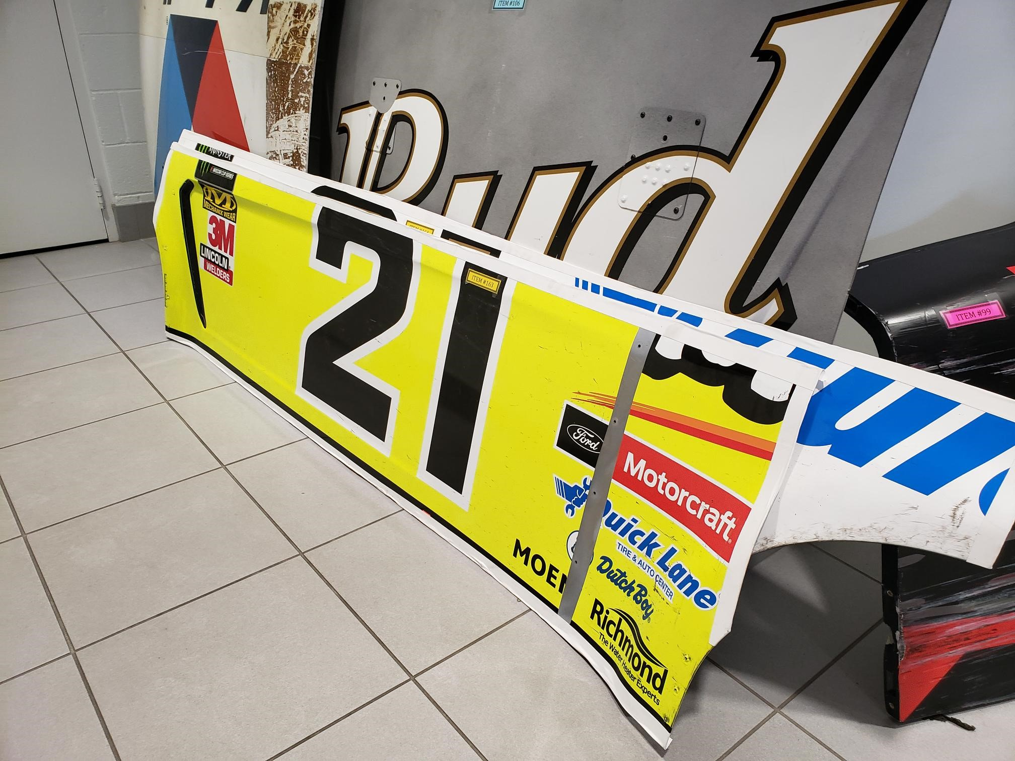 Side Panel from Wood Brothers Racing #21