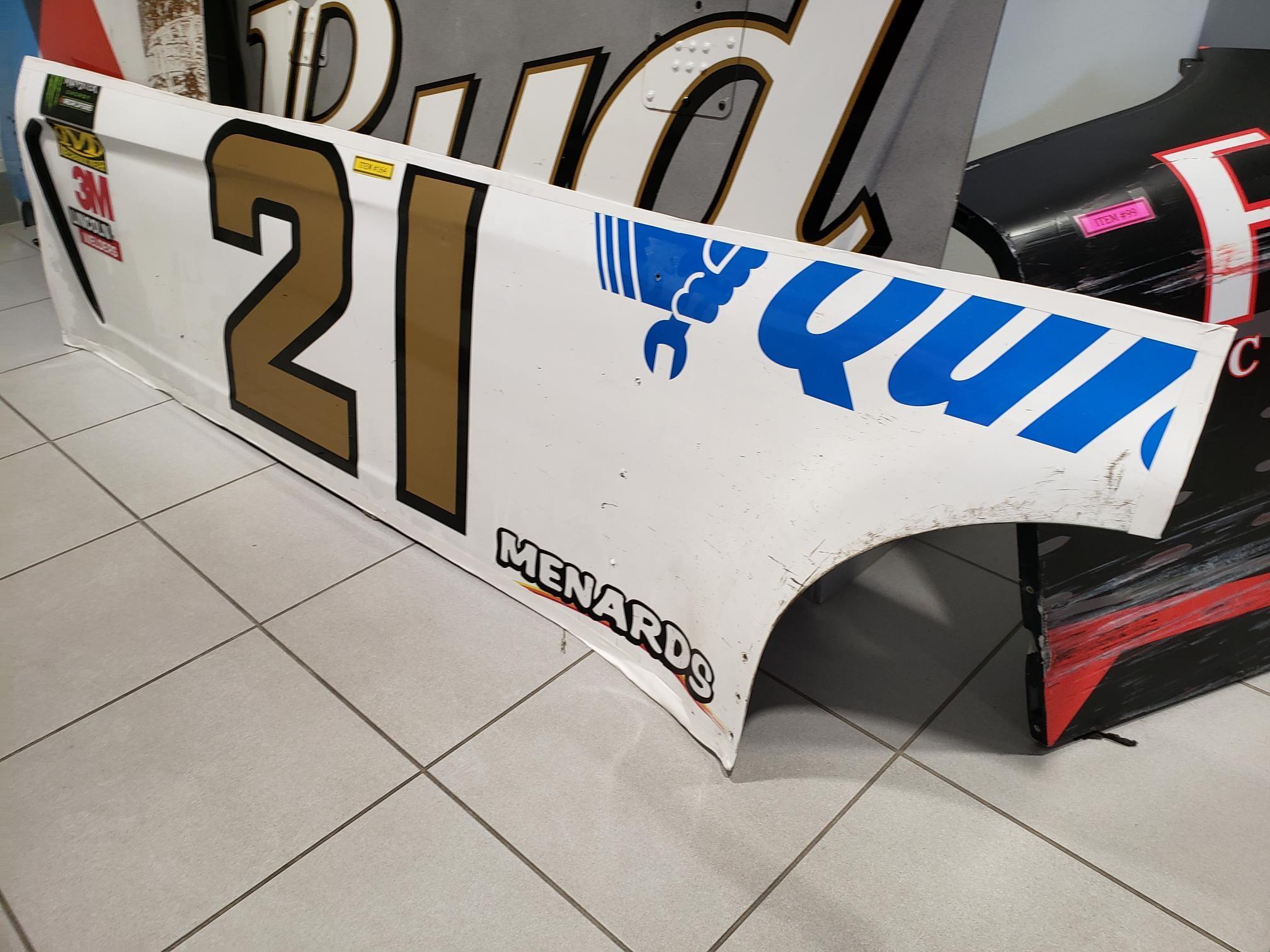 Wood Brothers Racing #21 Side Panel
